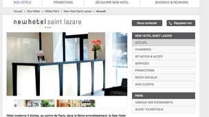 Hotel paris st lazare annuaire paris st lazare for Liste des hotels paris